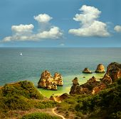 image of lagos  - Landscape with rocks - JPG