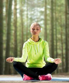 stock photo of yoga  - sport - JPG