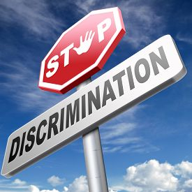 picture of gender  - stop discrimination no racism against minorities equal rigths no homophobia or gender discrimination - JPG