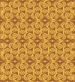 image of triquetra  - Abstract cocoa celtic knot triquetra background for design process - JPG