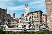 picture of piazza  - Italy Toscana Florence - JPG