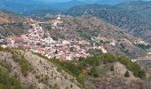stock photo of mountain-range  - Mountain village of Pedoulas at Troodos mountain range in Cyprus - JPG