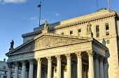 picture of supreme court  - The New York Supreme Court in New York City - JPG