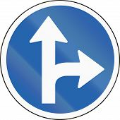 picture of traffic rules  - Icelandic traffic sign - JPG