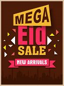 pic of occasion  - Mega sale poster - JPG