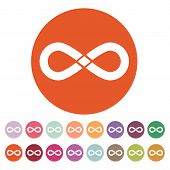 picture of infinity symbol  - The infinity icon - JPG