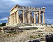 stock photo of artemis  - The sanctuary of Aphaia was erected between 500 and 490 BC - JPG