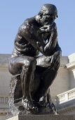 picture of thinker  - Rodins Thinker - JPG