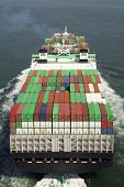 foto of container ship  - Container Ship - JPG