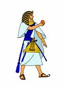 picture of babylon  - The Egyptian man and the sphere magical - JPG