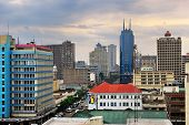 Nairobi, Central Business District und Skyline