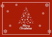 Christmas Greeting Card, Podcast, Christmas Tree, Merry Christmas, Christmas Card. Decorative Christ poster