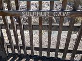 Sulphur Cave At Wai-o-tapu Geothermal Lakes In Rotorua New Zealand poster