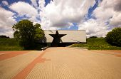 picture of brest  - entrance in a memorial the Brest fortress - JPG