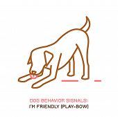 Dog Behavior Icon. Domestic Animal Or Pet Language. Shaking Off. Stress Release. Doggy Reaction. Sim poster