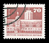 Gdr Post Stamp