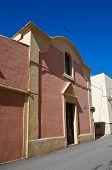 Church of St. Antonio Abate. Massafra. Puglia. Italy. poster