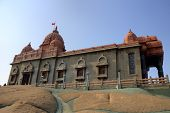 stock photo of swami  - Swami Vivekananda memorial - JPG