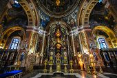 image of church interior  - Our Lady of Kazan Church Irkutsk - JPG