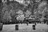 picture of cade  - Cemetery behind the Primitive Baptist Church in Cades Cove TN - JPG