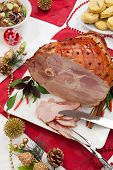 Roasted Spiced Ham