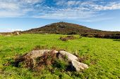 picture of st ives  - Cornwall countryside Zennor near St Ives England UK - JPG