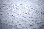 Texture Of Hilly Snowdrift With Nice Shadows
