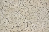 image of drought  - Dried and Cracked Texture of Earth or Dirt - JPG