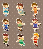 picture of flogging  - Kid Jump Stickers - JPG