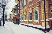 pic of siberia  - Old wooden house in Tomsk - JPG