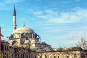 picture of constantinople  - Yeni Cami Mosque The New Mosque in Istanbul Turkey  - JPG