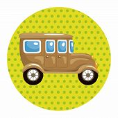 foto of transportation icons  - Transportation Car Theme Elements - JPG