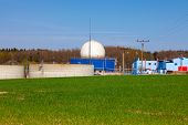 picture of biogas  - Bio gas plant - JPG