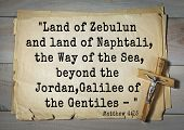 Постер, плакат: Bible verses from Matthew 