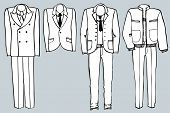 The Man's Suits For Design