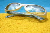 Sky Sunglasses poster