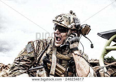 Special Forces Soldier Military Communications