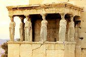 Athens, Greece - Caryatides poster
