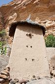pic of dogon  - Granaries in a Dogon village Mali  - JPG