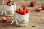Strawberry Trifle Mini Dessert poster