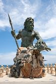 King Neptune Monument In Virginia Beach
