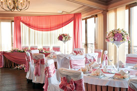 foto of wedding table decor  - wedding hall - JPG