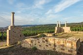 Villa Rustica Weilberg, Ancient Roman Winery Near Bad Duerkheim In Rhineland-palatinate, Germany poster