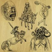 picture of minotaur  - Traveling series - JPG
