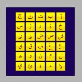 foto of arabic numerals  - Arabic typography design for all kinds of use - JPG