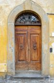 Old Medieval Style Door poster