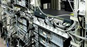 picture of mainframe  - Corporate Data Center and the communications equipment