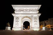 image of macedonia  - Gate on the main square of Skopje Macedonia - JPG