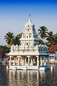stock photo of kanyakumari  - Thanumalayan Temple Suchindram Kanyakumari Tamil Nadu India - JPG