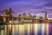 picture of bridge  - New York - JPG